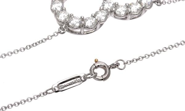 センチメンタルハート ダイヤ ネックレス(L)