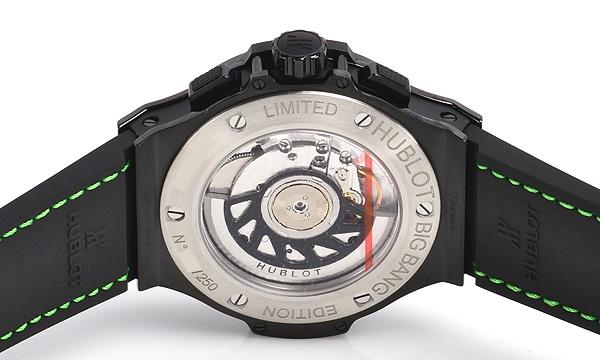 ビッグバン ブラックフローグリーン 世界限定250本